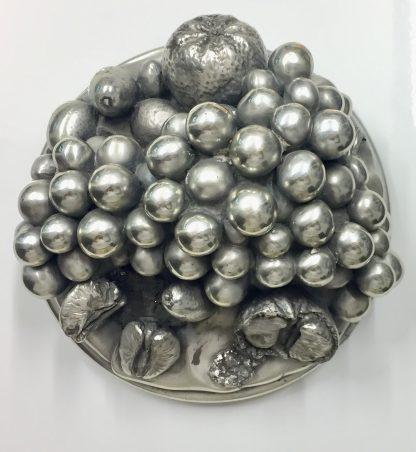 Fruttiera Ottaviani  in argento 800