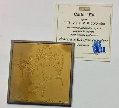 Carlo Levi Il fanciullo e il colombo