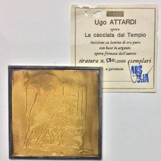 Ugo Attardi Cacciata Dal Tempio
