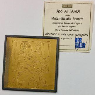 Ugo Attardi Maternità Alla Finestra