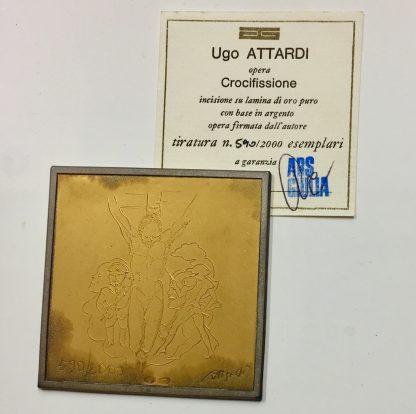 Ugo Attardi Crocifissione