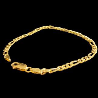 bracciale in oro giallo 18 carati da ragazzo